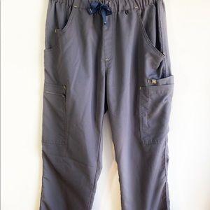 Figs Scrub Pants Dark Grey